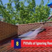Infographic: 8 Pitfalls of Ignoring Roof Cleaning Regularly